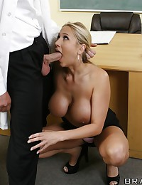 Doctor Alanah Fucks Co-worker