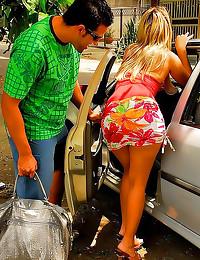 Brazilian bikini girl hardcor...
