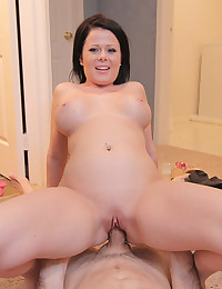 Adorable Loni Loves Riding Fat Cock