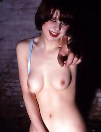 Pretty girl in tasty panties ...