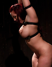 Redhead in tit pain gallery