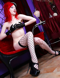 Redhead hot in full latex out...