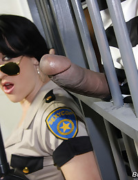 Dylan Ryan Pleasures Two Inmates