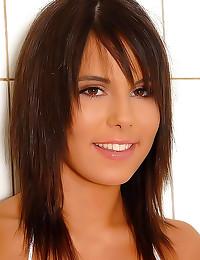 Cute brunette toy sex girl