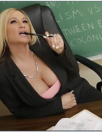 Teacher likes big student cock