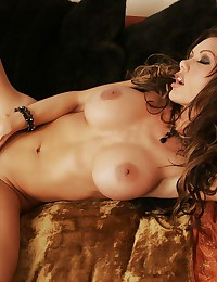 Sheer lingerie looks smoking hot on Crissy Moran today.
