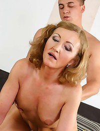 Naughty Minx Plays With Cock