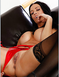 Busty Vanilla Exposes Her Heavenly Body