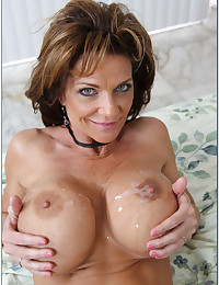 Wild Milf Gets Jizzed On