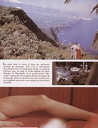 Sexy seventies girls enjoying their holiday
