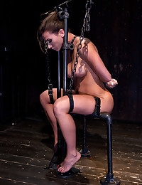 Extreme bondage and pain