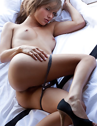 Malena Morgan strips and shows her hot body for Digital Desire.
