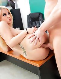 Busty schoolgirl seduces her ...