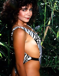 Erotic outdoor retro nudes