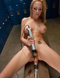 Locker room toy session