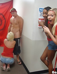 Hot college cheerleader fucked in this dorm room orgy hot pics