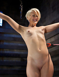 This masochistic slut has been trained and it is time to find out how much of her training has been retained. Her body is pushed to a breaking point.