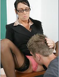 Seductive Teacher Fucks