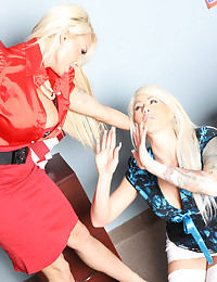 Brooke And Holly Play Nice