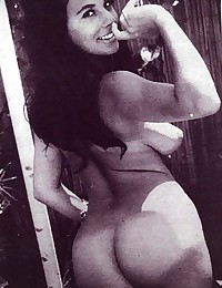 Vintage and sexy butt retro looking pictures
