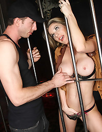 Sexy girl fucked hard in prison