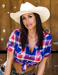 Busty Country Girl Randi Jizzed On