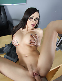Office Tramp Amy Banged Raw