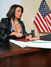 Hot judge workplace sex