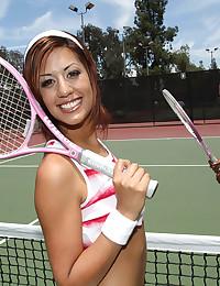 Tennis Babe Layla Fucks Hard Cock
