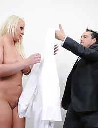 Curvy girl rough big cock fuck