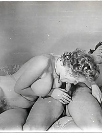 Several fifties ladies sucking some big dick