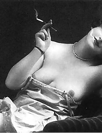 Real vintage topless chicks showing breasts