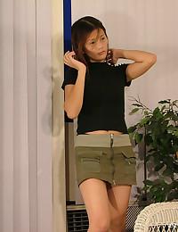 Dildo Playing Asian Doll