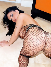 Fabulously curvy fishnets mil...
