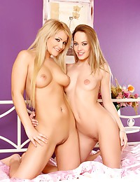 Sapphic Erotica presents Lana and Beatrice in Sensual Sixtynine.