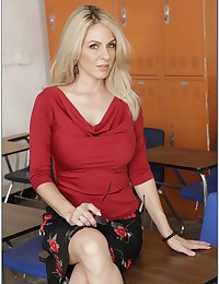 Beautiful And Sexy Looking Teacher