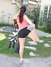 Super Hot Minx Sophie Dee Strips