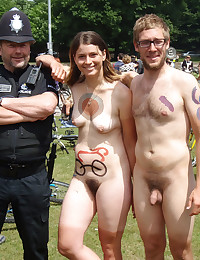 Naked bike ride festival