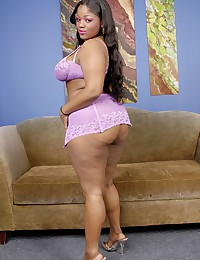 Solo black fat girl