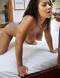 Curly Haired Black Babe Priscila