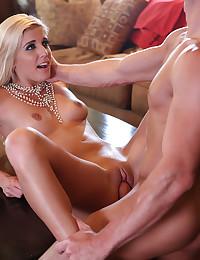 Elegant Blonde Carmen Enjoys Sensual Sex