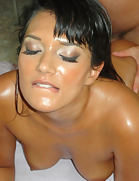Luscious Mocha Babe Shazia Drilled Hard