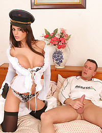 Girl in uniform fucked hard