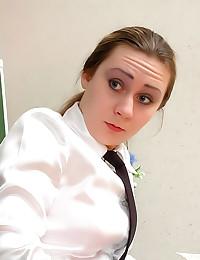 Teacher licks and fucks schoolgirl