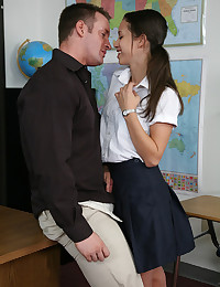 School room big cock sex