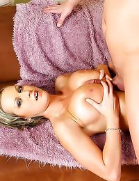 Big tits latex nurse treats h...