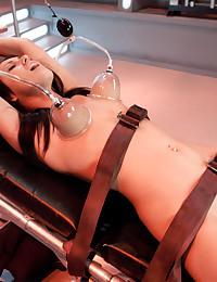 Breanne Benson strapped down ...