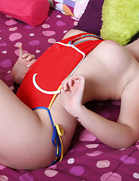 Andi Love - Andi Love was trying her new monokini on and ended up posing all naked