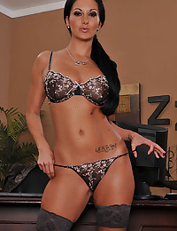 Curvaceous Milf Ava Addams Gets Naked