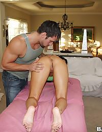 Massage and bone the slut